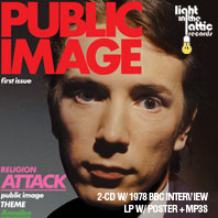 PiL: First Issue CD / LP 2013 US release with extras