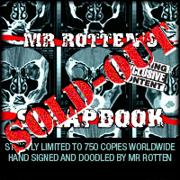 Mr Rotten's Scrapbook - Strictly Limited Edition High-End Photo Book