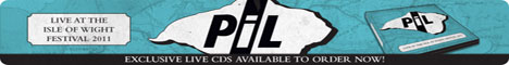 PiL: Live At The Isle of Wight Festival 2011 CD