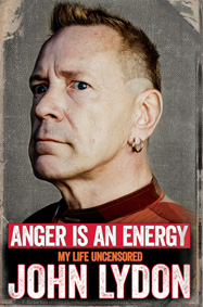 'Anger is an Energy' is published October 9th via Simon & Schuster