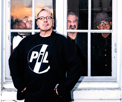 (left to right) Lu Edmonds, John Lydon, Scott Firth, Bruce Smith (photo Tomohiro Noritsune) © PiL Official 2015 (left to right) Lu Edmonds, John Lydon, Scott Firth, Bruce Smith (photo Tomohiro Noritsune) © PiL Official 2015
