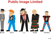 PiL caricature Cartoon 1 © David Worth