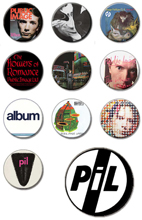 HMV Online Japan: PiL Badges
