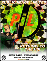 Public Image Ltd  North America Tour 2010