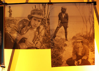 Wall display of John in Jamaica