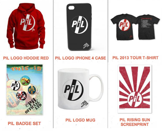 PiL UK / Rest of World store